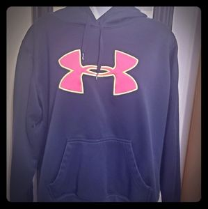 Under Armour hoodie color black good condition